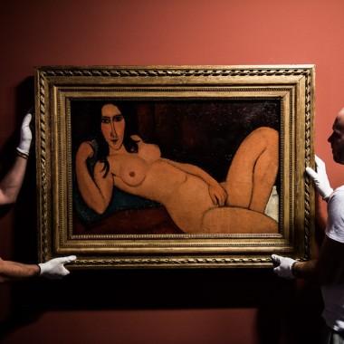 Modigliani fekvő akt