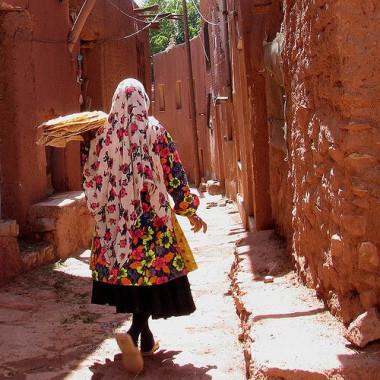 Iráni nő