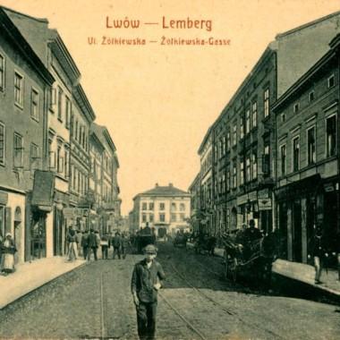 Lemberg régi képeslap